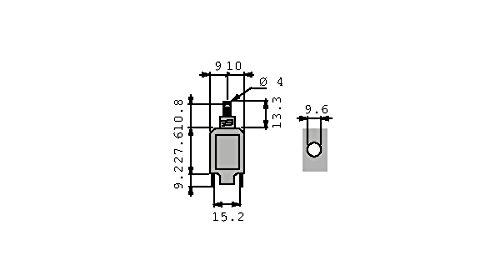 Disjoncteur thermique 10 A Schurter T11-211