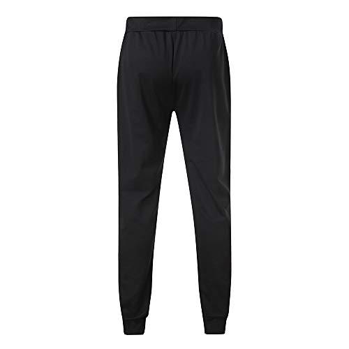 Mrulic Et Décontracté Pantalon Gris Jogging Glissière À De v1rfqvSn