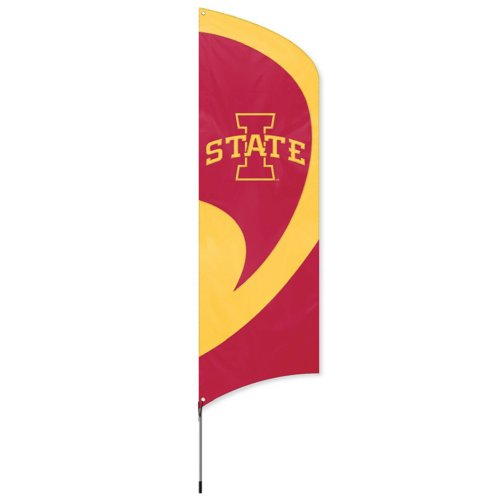 Party Animal Iowa State Cyclones Tall Team Flag - Party State Iowa Kit