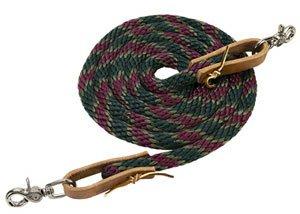 Weaver Poly Nylon Roper Reins - Size:5/8