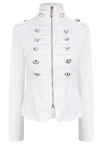Double Breasted Crop Jacket - 9