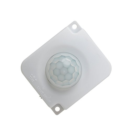 Price comparison product image Bettal Automatic DC 12V 24V 10A Infrared Body PIR Motion Detector Sensor Switch (white)