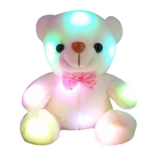 Kyuccfrs LED Light Music Bear Animal Plush Soft Doll Stuffed Toy Cushion Pillow Kids Gift - 5# (Icicle Stuffed Animal)