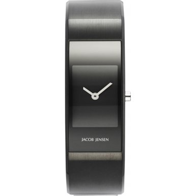 Jacob Jensen 443 Ladies Eclipse Black Small Watch