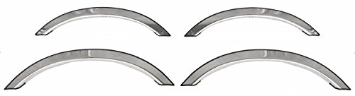 ICI CHE-066 Stainless Steel Fender Trim for Chevy Impala 4-Door (Fender Replacement Chevrolet Impala)