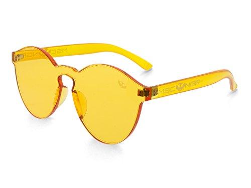 Sunglasses gruesa NEGRA Mosca Gafas montura Negra modelo transparentes CANDY MOSCA YELLOW Z5xw6axq
