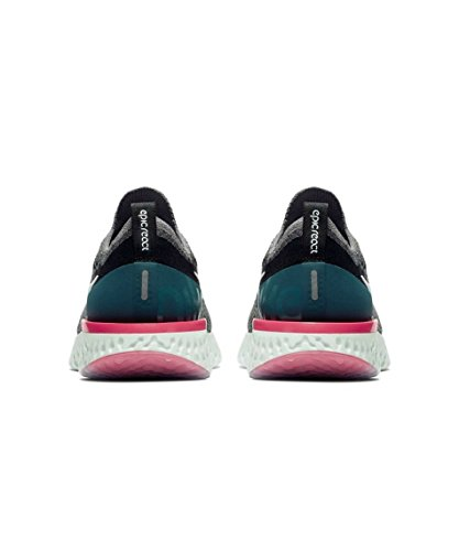 Epic Running Geode 010 de Multicolore Femme Nike Chaussures Flyknit Gunsmoke Teal Compétition Black White React WMNS YOTx5