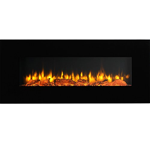 50 inch wall fireplace - 3