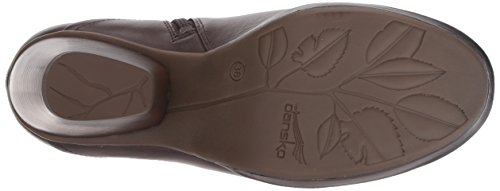 Boot Women's Chocolate Miley Ankle Burnished Calf Dansko gtAqSwxS