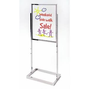 loorstand 22 x 28 Metal (Floor Model Sign Holder)