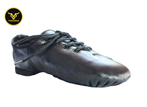 Sole Dance Modern Split Rubber Shoes Leather Jazz Pure Stage Shoes TOROMAX aPn87Zx