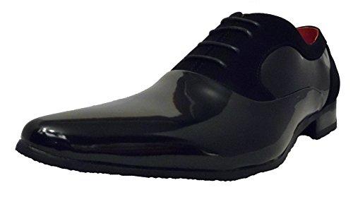 Nubukleder Herren Schwarz Amando Rossellini Schuhe 8ax5nqw6UP