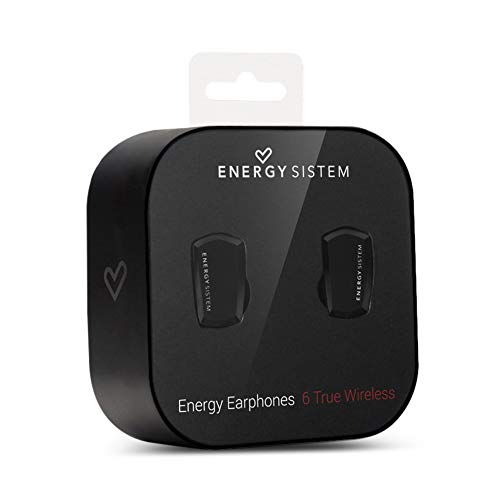 1350eb210fa Energy Sistem Earphones 6 True Wireless Bluetooth Headphones (Extended,  Hook, Voice Control, Rechargeable Battery), Black: Amazon.co.uk: Computers  & ...