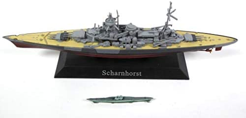 DeAgostini Scharnhorst 1939 Battle Cruiser + U-Boot 1938 Type VII Submersible 1/1250 WS2