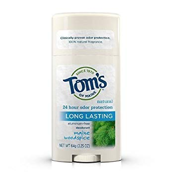 Tom's of Maine Mens Long Lasting Stick Deodorant, Maine Woodspice - 2.25 oz (pack of 1) image may vary