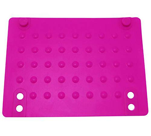 YOYOSTORE 1Pc Heat Resistant Mat For Hair Styling Tools Curling Irons, Hair Straightener, Flat Irons Red