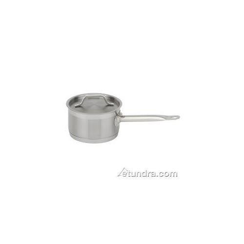 Royal Industries Saucepan w Lid 2qt Saucepot Induction Cookware Stainless Steel Pot,Long Sturdy Handle 6.3