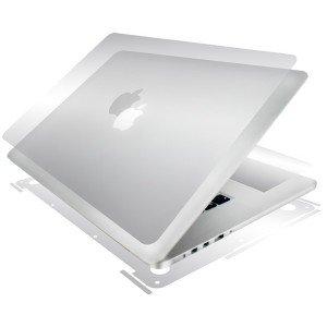 BodyGuardz - UltraTough Clear ScreenGuardz, Crystal Clear Skin Anti-Microbial Body Protection - Full Body for Apple MacBook Pro 15-Inch by BodyGuardz