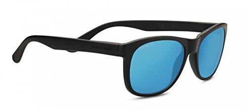 Serengeti Anteo Sunglasses, Satin black Blue by Serengeti