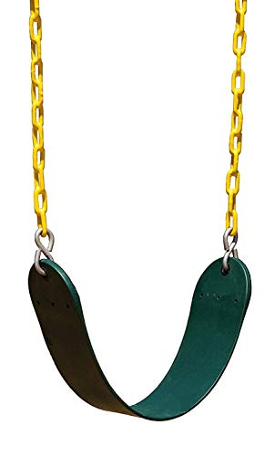 High Back Full Bucket Swing and Heavy Duty Swing Seat - Swing Set Accessories by Squirrel Products (Image #1)