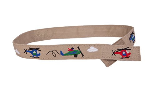 Myself Belts - Toddler and Kids Belt for Boys - Helicopter (4T) (Best Helicopter Training Schools)