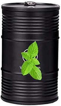 ふた付き車の灰皿、フォルクスワーゲンゴルフとの互換性、アルミニウム合金so貯蔵タンク洗える軽い旅行 (Color : 黒)