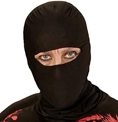 Generique - Pasamontañas Negro de Ninja Adulto: Amazon.es ...