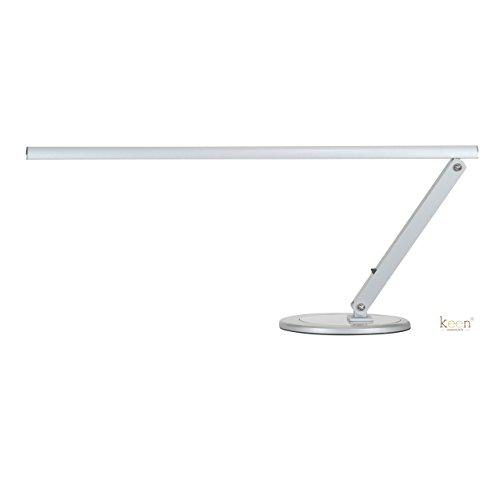 KEEN Slim-Line LED Table W/ USB Charging Port Lamp for Nail Salon Manicure Table, Spa Reception, Massage Spa Furniture & Equipment (Lamp Park Standard)