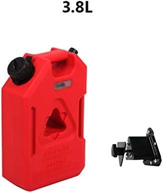ガスタンク、ガソリンジェリー缶、ポータブルガソリン缶、3.8L-11.3L、オートバイオフロード車のスペア燃料タンク (Size : 3.8L)