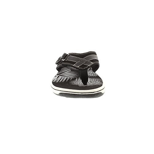 Clarks Brinkley Sea - Sintetico Nero