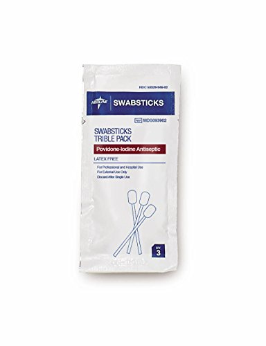Medline MDS093902 Povidone Iodine Swabstick