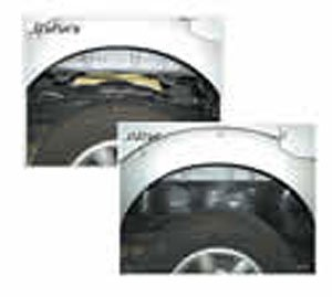 Performance Accessories, Chevy/GMC 2500/3500 Duramax Diesel, 4WD, Gap Guards for 3″ body lift, fits 2003 to 2006, PA6543, Made in America
