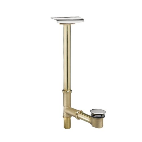 American Standard 1599.205.002 Deep Soak Max Drain with Unique Top-Mount Overflow, Allows 3-Inch Deeper Water Level, Polished Chrome (American Standard Polished Brass)