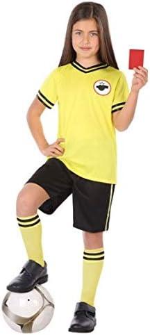 Fancy Me Disfraz de árbitro de fútbol para niños y niñas de 3 a 12 ...