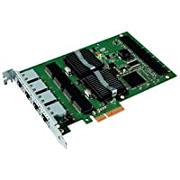 Intel PRO/1000 PT Quad Port Server Adapter - Network adapter - PCI Express x4 low profile - Ethernet, Fast Ethernet, Gigabit Ethernet - 10Base-T, 100Base-TX, 1000Base-T - 4 ports