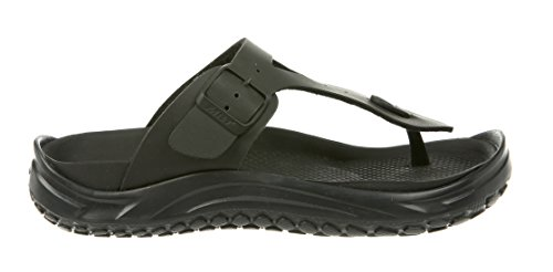 488faa0e8f32 MBT Shoes Women s Meru Recovery Sandal  Black Smooth for sale Delivered  anywhere in USA