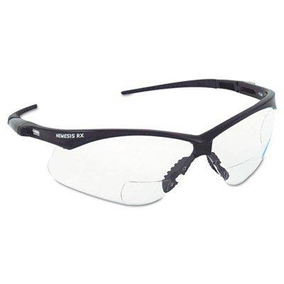 Jackson - Nemesis Rx Safety Spectacles Spec Nemesis Rx Smoke/Black 2.0Plus: 138-3020286 - spec nemesis rx smoke/black - 2.0 Rx Eyewear