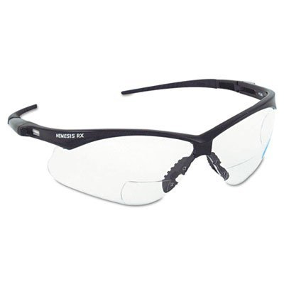 Jackson - Nemesis Rx Safety Spectacles Spec Nemesis Rx Smoke/Black 2.0Plus: 138-3020286 - spec nemesis rx smoke/black - Rx Spectacle Lens