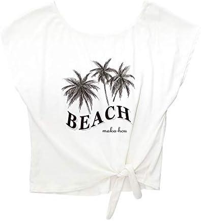 MAKA-HOU マカホー 裾しぼりTシャツ [12W06-02S] 水着 ティーシャツ