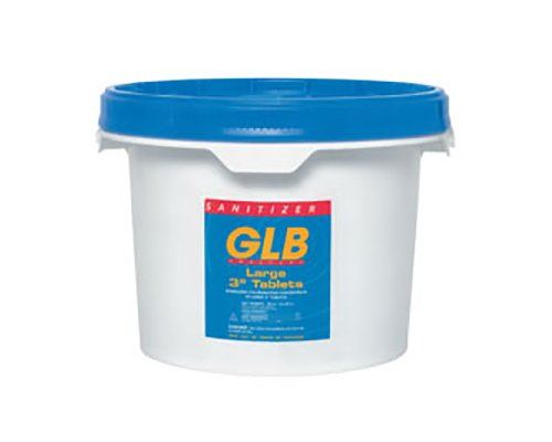 GLB 71228A 3-Inch Chlorine Sanitizing Tablets, 4-Pound, Large