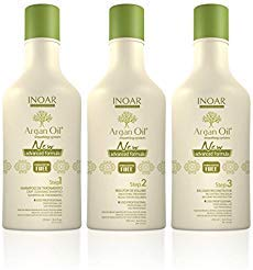INOAR Brazilian Argan Oil Hair Hair Straightener System - Smoothing Capillary (750ml)