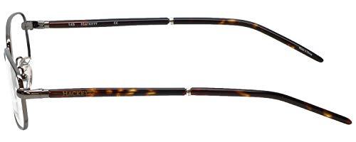Hackett London Designer Reading Glasses HEK1060 in Gunmetal with Anti Reflective Coated Lenses +1.25