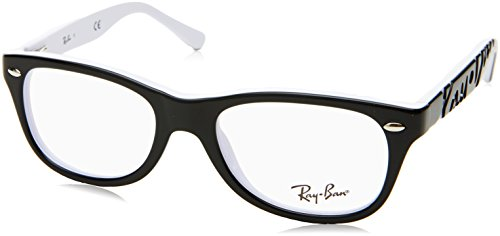 Ray-Ban Optical 0RY1544 Sunglasses for Unisex - Size - 46 (Top Black On - And Bans White Ray Black