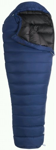 Marmot Helium Long Down Sleeping Bag, Long-Left, Blue