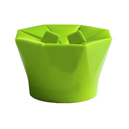 Hehilark - Bol de Silicona para microondas, diseño de Palomitas ...