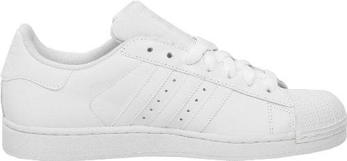 Adidas Originals Mens Superstar Ll Sneaker Bianco / Bianco / Bianco
