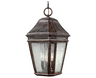Feiss OL11311WCT, Londontowne Outdoor Ceiling Lighting, 54 Total Watts, Weathered Chestnut