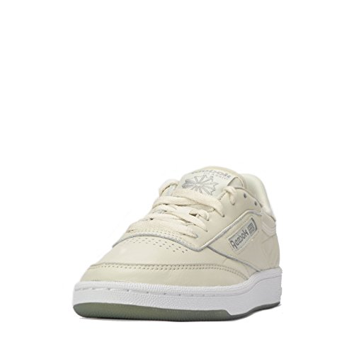 Club Sneaker gun Donna Metal Metals White white White 85 Paper Gun Paper White Reebok Metal qtwZdt