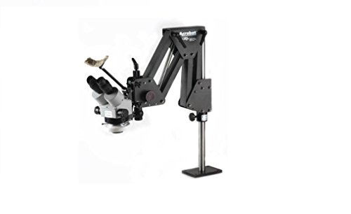 GRS Tools 003-630 Acrobat Stand with Microscope and LED Light by Paaz Jewelry Supply