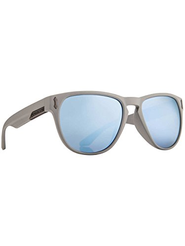 Dragon Mens Marquis Large Fit Sunglasses, Grey Matter Black/Sky Blue Ionized, One - Shades Dragon